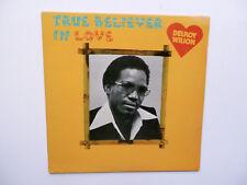DELROY WILSON ... True Believer In Love ... LP on MICRON 0032 (Canada) .... RARE
