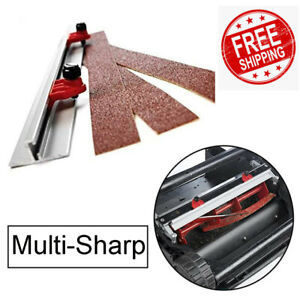 Multi-Sharp 1109 Blaide Sharpener for Cylinder Lawn Mowers with 32-38