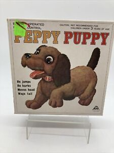 Vintage 1960's Peppy Puppy Remote Control  with Box