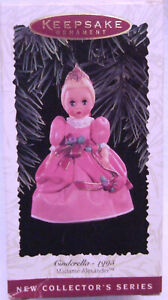 Hallmark Keepsake Madame Alexander Cinderella 1993 Christmas Ornament