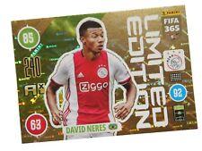 PANINI FIFA 365 2021 LIMITED DAVID NERES - AJAX AMSTERDAM
