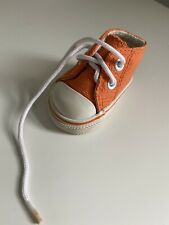 Bitty Baby Doll Boy Twin Playdate Outfit Right Orange Canvas Sneaker Shoe ONLY