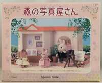 Sylvanian Families Forest Photo Shop FU-07 Vintage Calico Critters Epoch W/Box