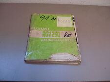 Suzuki RGV 250 Werkstatthandbuch Wartungsanleitung Reparaturhandbuch 89 - 91