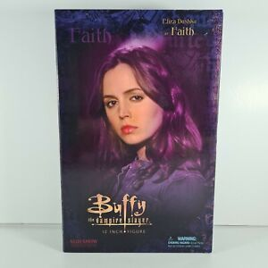 """Buffy The Vampire Slayer Sideshow Collectibles Figure - Faith boxed 12"""""""