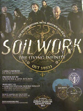 Soilwork, The Living Infinite, Full Page Promotional Ad