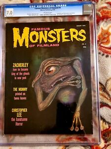 Famous Monsters of Filmland Issue #4 CGC 7.0!!!*** off WHITE PGS*