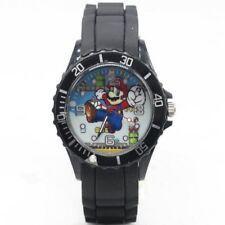 CUTE Dial Quartz Watch SUPER MARIO Children Cartoon Birthday Boys Christmas Gift