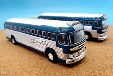 Classic Metal Works 32101 1:87 GMC PD4103 Greyhound New York 2 PACK!