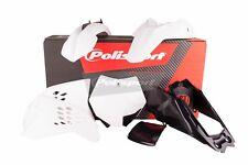 POLISPORT MX KTM Motocross Kit de plásticos SX65 20212-2015-Blanco-90214