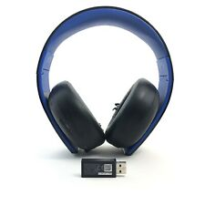 Sony PS4 Gold Wireless Stereo Headset (CECHYA-0082) with USB Wireless Adapter