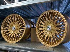 "15"" Alloy Wheels Alloys Rims Volkswagen Caddy Polo Lupo Golf Ford Fiesta 100/108"