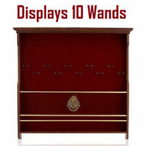Harry Potter 10-Wand Wooden Wall Display Case Collector's Storage (No Wands Inc)