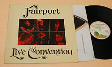 FAIRPORT:LP-LIVE-PROG 1°PRESS ITALY 1974 TOP NEAR MINT