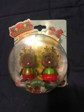 New Lil Woodzeez Biscuit & Blizzard Holiday Bobbleez Bobblehead Collection