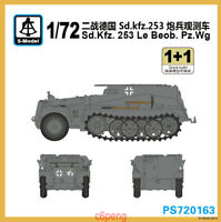 S-model PS720163 1/72 Sd.kfz.253 Le Beob.Pz.wg (1+1) Hot