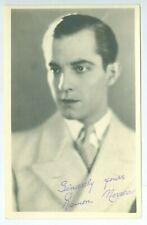 1920's Movie Actor Ramon Novarro, 5x7 Film Studio Publicity Photo
