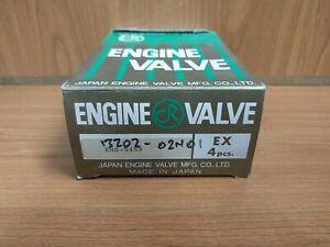 4x Exhaust Valves fits Nissan Pickup Datsun D21 Urvan E24 Atlas Condor F22 TD23