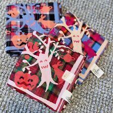 Vivienne Westwood Handkerchief/Scarf - 39.5cm - Halloween Trees -Reversible Red