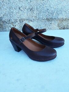 THE ART COMPANY WOMENS MARY JANES SHOES BROWN LEATHER SIZE; EU 38 UK 5 US 7