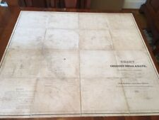 1837 Folding Chart of George's Shoal & Bank, Surveyed by Charles Wilkes, US Navy