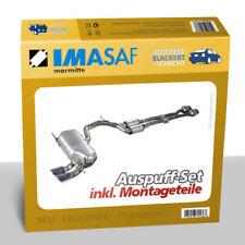 IMASAF Exhaust Set from Cat Honda Jazz III 1.2 +1.4 CENTRE MUFFLER + End
