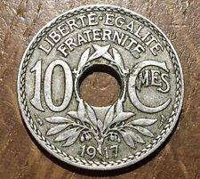 PIECE DE 10 CENTIMES LINDAUER 1917 (29)