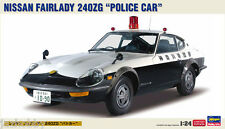 Hasegawa 20250 1/24 Scale Model Car Kit Nisan Fairlady 240ZG Patrol Car 240Z S30