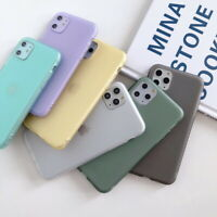 Liquid Silicone Rubber Soft Case Cover For iPhone 11 Pro Max XS XR X 8 7 6S Plus