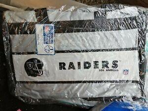 BORSONE BORSA ZAINO BAG AMERICAN FOOTBALL RAIDERS LOS ANGELES   NFL OFFICIAL