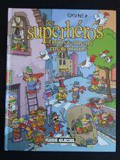 LES SUPERHEROS INJUSTEMENT MECONNUS Larcenet TBE