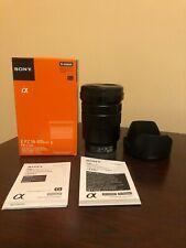 Used Sony E PZ 18-105mm f/4 G OSS Lens #743