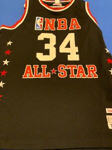 PSA AUTOGRAPHED/SIGNED CHARLES BARKLEY 1991 ALL STAR MITCHELL & NESS JERSEY