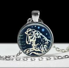 Art Pendant wholesale Fashion Jewelry Aries Jewelry Zodiac Necklace Wearable