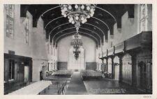 Postcard Dining Room Grand Lodge Hall Masonic Home Elizabethtown Pa