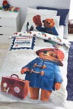 Next Paddington Bear Pigeonton Reversible Toddler Size Duvet Pillowcase Set BNWT