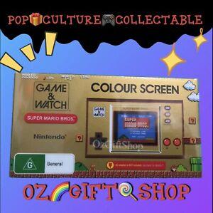 Nintendo Game & Watch Super Mario Bros - Brand New