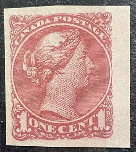 Stamps Canada QV, QUEEN VICTORIA  Essays & Proofs Extremely RARE # 18