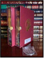 John Carter Of Mars - E.R. Burroughs Sealed Signed Limited Set 1/348 + Medallion