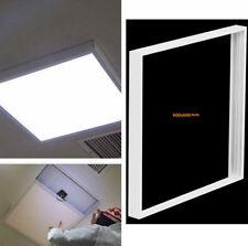 Surface Mount Frame Kit 600x600mm LED Panel Ceiling Aluminum White Finish UKES