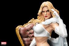 Emma Frost 1/4 Scale Statue XM Studios White Queen X-Men Hellfire Club Maquette