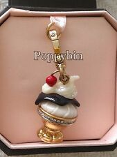BRAND NEW JUICY COUTURE ICE CREAM SUNDAE BRACELET CHARM IN TAGGED BOX