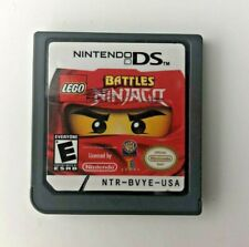 Lego Battles Ninjago Nintendo Ds Great Condition (Loose) Tested