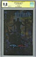 Batman Who Laughs #1 CGC 9.8 SS Clayton Crain Foil Edition Variant Cover Signed