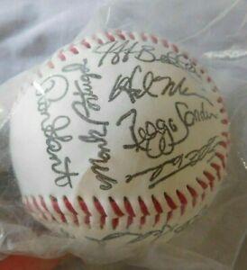 1995 Cincinnati Reds Facsimile signed Baseball still in sealed bag
