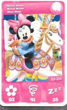 Carte Mickey Mouse & Friends - n° 113 - Minnie Mouse - Parc - 2012