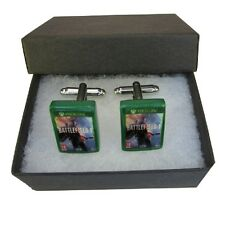 Handmade Fimo XBOX Gaming Cufflinks - Battlefield 1 One Game - Boxed Gift