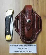 Custom Pancake Sheath For Buck #110 #111 Folding Hunter Knife