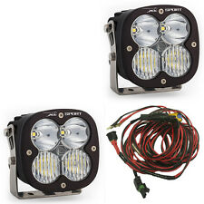 Baja Designs XL Sport Pair LED Lights Combo Beam w Wiring ATV UTV RZR AUX 567803