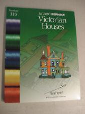 Studio Bernina Victorian Houses #115 Bernette Deco Embroidery Card